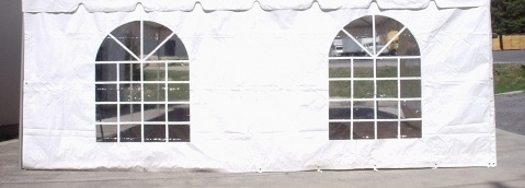 Tent window wall 8'x20'