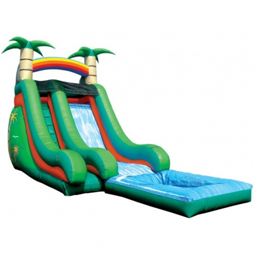 Einflatables Tropical Splash Slide
