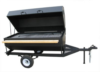 towable BBQ Grill 6 foot