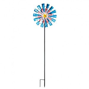 Evergreen Windmill Kinetic Wind Spinner