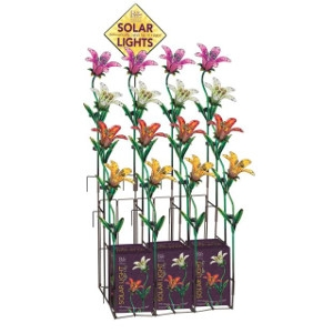 Regal Art & Gift Solar Tiger Lily Stakes
