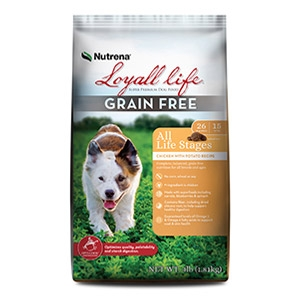 Loyall® Life All Life Stages Grain Free Chicken with Potato Recipe for Dogs 30lb