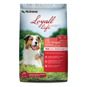 Loyall® Life All Life Stages Chicken & Brown Rice Recipe for Dogs 20lb