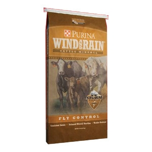 Wind and Rain® Storm® Fly Control Cattle Mineral