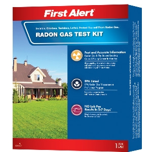 First Alert DIY Home Radon Test Kit