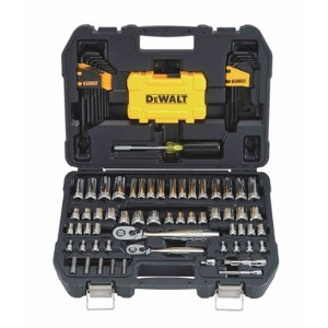 DeWalt Metric/SAE Socket Wrench Set