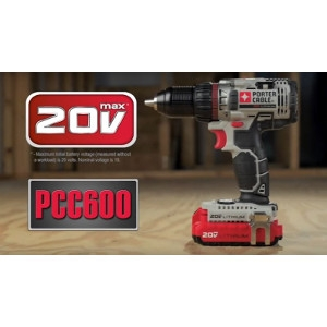 Porter-Cable Cordless Drill/Driver Kit $120.00