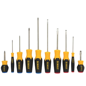 DeWalt DWHT62513 10 pc. Screwdriver Set