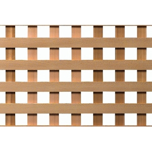 4' x 8' Cedar #1 Privacy HD Lattice
