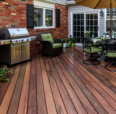 Oiled IPE Mirrite Decking