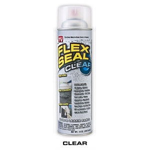 Flex Seal FSCL20 Clear Rubber Sealant Spray