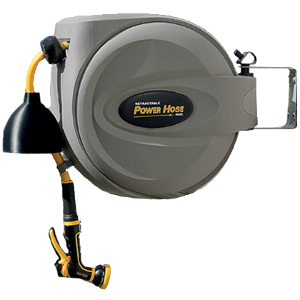"Retractable Power Hose Reel - 5/8"" x 50'"