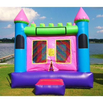 Little Girl Bounce House