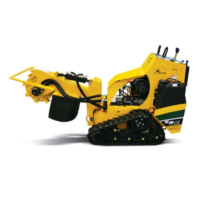Stump Grinder with Tracks
