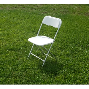 White Aluminum Chair