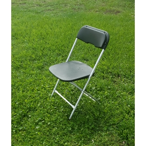 Black Aluminum Chair