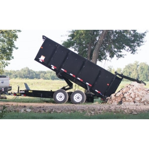 14LX Heavy Duty Tandem Axle Extra Wide Dump Trailer