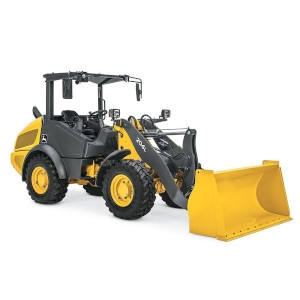 4WD Articulating Wheel Loader