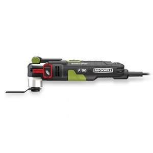 Rockwell® F-80 Sonicrafter Duotech 4.2 amp Oscilating Multi-Tool Kit