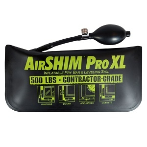 AirShim Pro XL Inflatable Pry Bar & Leveling Tool