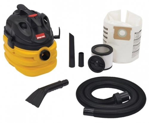 $69.00 for Shop-Vac Wet/Dry Corded Vacuum