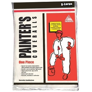 Trimaco Breathable Disposable Painter's Coverall