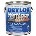 Drylok Wetlook High Gloss Concrete Seale