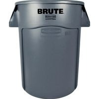 Rubbermaid Brute 2643 Utility Container, 44 Gal, 24 In Dia X 19 In L X 3 In W, Polyethylene