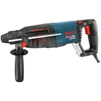 Bulldog 11255VSR Multi-Function Rotary Hammer, 120 V, 7.5 A, 3/4 In SDS-Plus, Keyless Chuck, 0 - 1300 Rpm