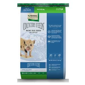 Nutrena® Country Feeds® Feeds Mini Pig Feed