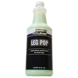 Winner's Brand® Leg Pop Liquid Sheen & Linament for Lamb Legs