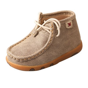 Twisted X® Infants Driving Moccasins - Dusty Tan