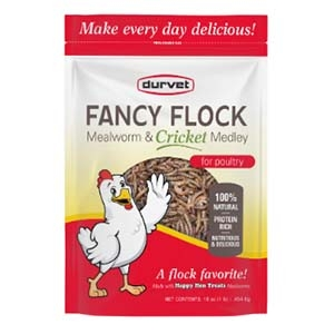 Fancy Flock™ Mealworm & Cricket Medley