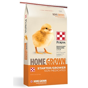 Purina® Home Grown® Starter/Grower - Non-Medicated