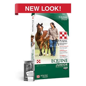 Purina® Equine Junior® Horse Feed