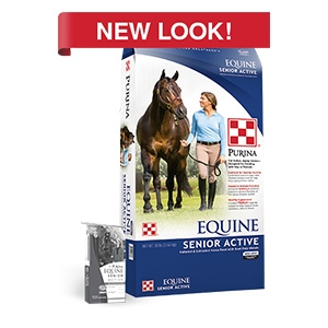 Purina® Equine Senior® Active Healthy Edge®