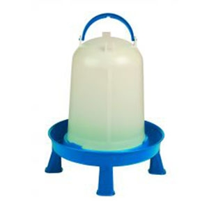 Miller® Double-Tuf 2.5 Gal Poultry Waterer with Legs