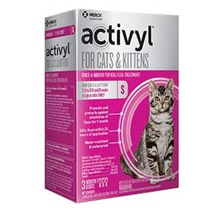 Activyl® Spot On Flea Killer for (2-9 Lbs.) Cats