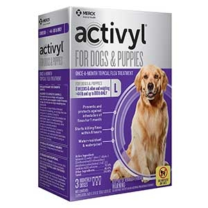 Activyl® Spot On Flea Killer for Large (44-88 Lbs.) Dogs