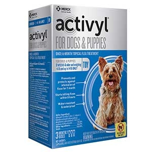 Activyl® Spot On Flea Killer for Toy (4-14 Lbs.) Dogs