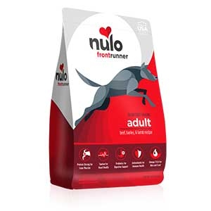 Nulo® Frontrunner High-meat Kibble Beef, Barley & Lamb Recipe Dry Dog Food