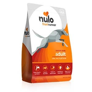 Nulo® Frontrunner High-meat Kibble Turkey, Trout & Spelt (Wheat) Recipe Dry Dog Food
