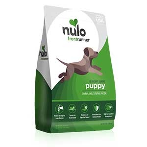Nulo® Frontrunner High-meat Kibble for Puppies Chicken, Oats & Turkey Recipe Dry Dog Food