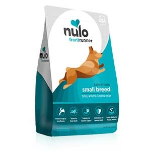 Nulo® Frontrunner High-Meat Kibble for Small Breeds Turkey, Whitefish & Quinoa Recipe Dry Dog Food