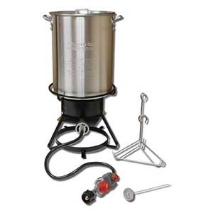 King Kooker® 29 Qt Aluminum Turkey Frying Cooker Package