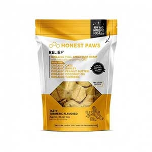 Honest Paws® Tasty Turmeric Relief Bites CBD Treats
