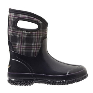 Bogs® Classic Winter Plaid Mid Women's Insulated Boots