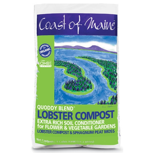 Coast of Maine Quoddy Blend Lobster Compost
