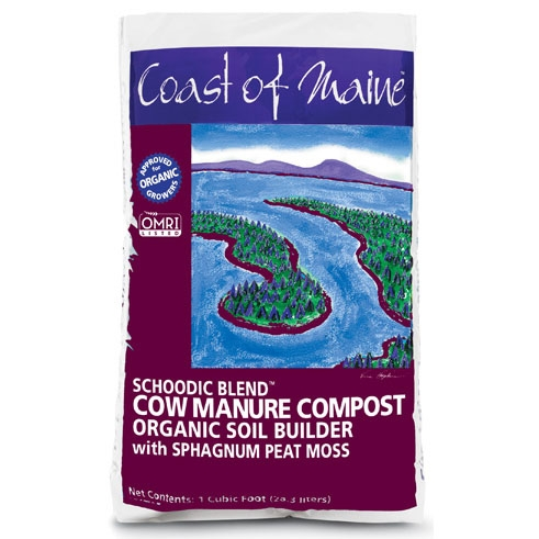 Coast of Maine Schoodic Blend Cow Manure Compost