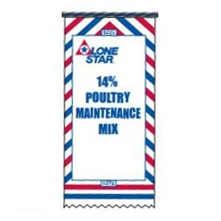 Lone Star 14% Poultry Maintenance Mix